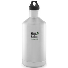 Klean Kanteen Classic Bottle Vacuum Insulated 1900 ml w/ Loop Cap brushed stainless